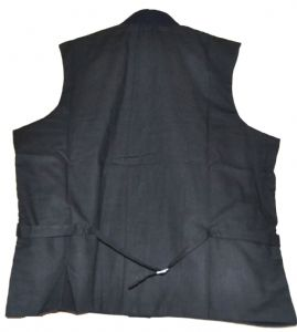 Union  Officers Waistcoat 9 Button